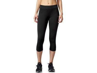 ADIDAS Damen Lauftights / Trainingstights Response 3/4 Tight Schwarz