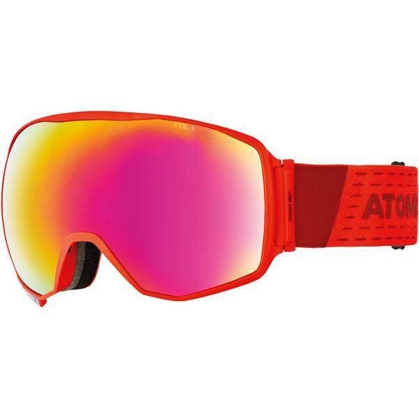 "ATOMIC Skibrille / Snowboardbrille ""Count 360° HD Red"""