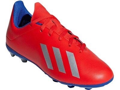ADIDAS Kinder Fußballschuhe X 18.4 FxG Rot