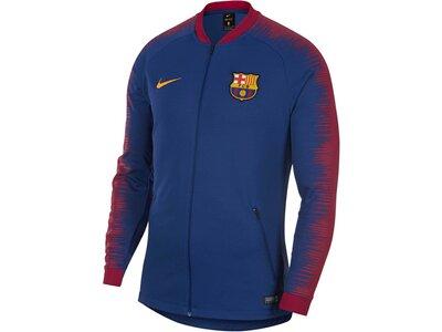 "NIKE Herren Fußballjacke ""FC Barcelona Anthem"" Blau"