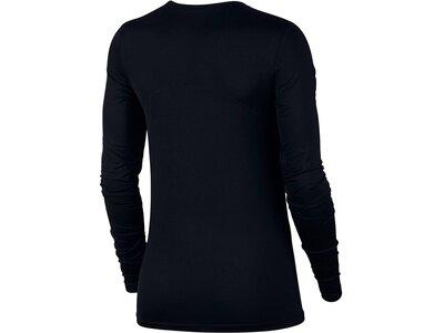 "NIKE Damen Trainingsshirt ""Pro"" Langarm Schwarz"