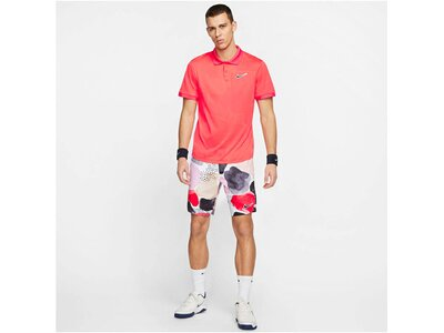 "NIKE Herren Tennis-Poloshirt ""Court Breathe Advantage"" Kurzarm Rot"