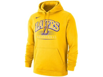 "NIKE Herren Sweatshirt ""Los Angeles Lakers"" Gelb"