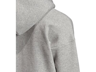 "ADIDAS Damen Kapuzen-Sweatshirt ""Must Haves Badge of Sport Logo Hoodie"" Grau"