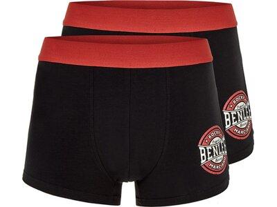 BENLEE Herren Boxershort Doppelpack CAMPELLO Schwarz