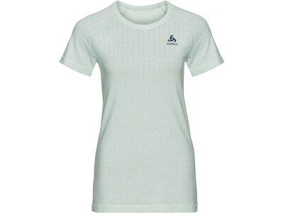 "ODLO Damen Laufshirt ""Millennium Linencool Pro"" Kurzarm Grün"