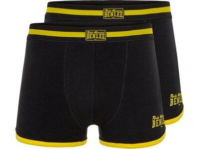 BENLEE Herren Boxershort Doppelpack MONTELLO Schwarz