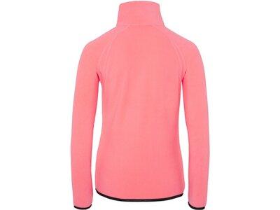 CHIEMSEE Fleecejacke aus kuscheligem Material Pink
