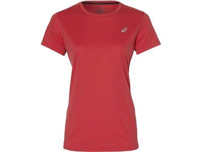 ASICS Damen Laufshirt Kurzarm Pink