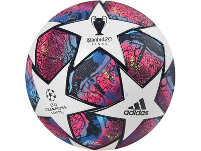 "ADIDAS Fußball Trainingsball ""UCL Finale Istanbul Pro"" Blau"