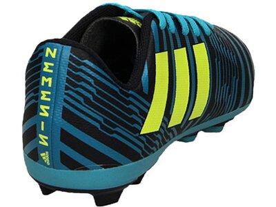 ADIDAS Fußball - Schuhe Kinder - Nocken NEMEZIZ 17.4 FxG J Kids Blau