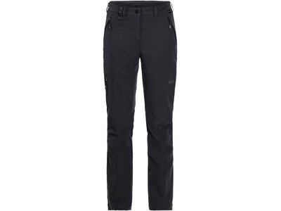"JACKWOLFSKIN Damen Softshellhose ""Activate XT Women"" Schwarz"
