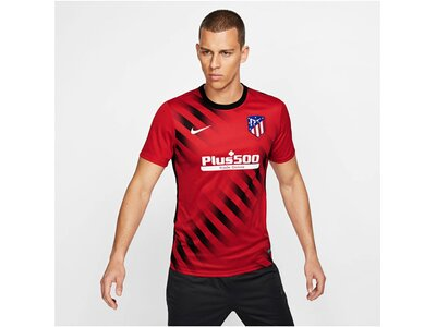 "NIKE Herren Fußballshirt ""Dri-FIT Atletico de Madrid"" Kurzarm Schwarz"