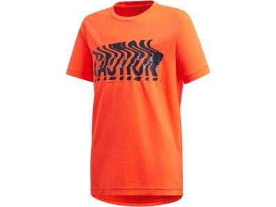 ADIDAS Jungen Kinder und Kleinkinder Running T-Shirt Rot