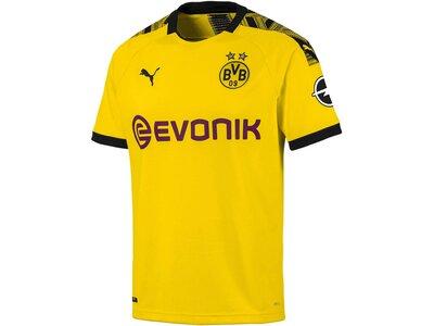 """PUMA Herren Fußball-Trikot """"BVB Home Shirt"""" Kurzarm - Replica Gold"""