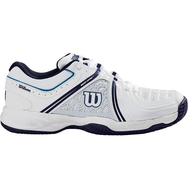 WILSON Damen Tennisschuhe Tour Vision V | Schuhe > Sportschuhe > Tennisschuhe | White - Blue | WILSON