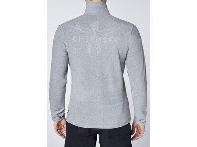 CHIEMSEE Fleecejacke mit CHIEMSEE Rückenprint Grau