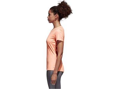 ADIDAS Damen Trainingsshirt Rot