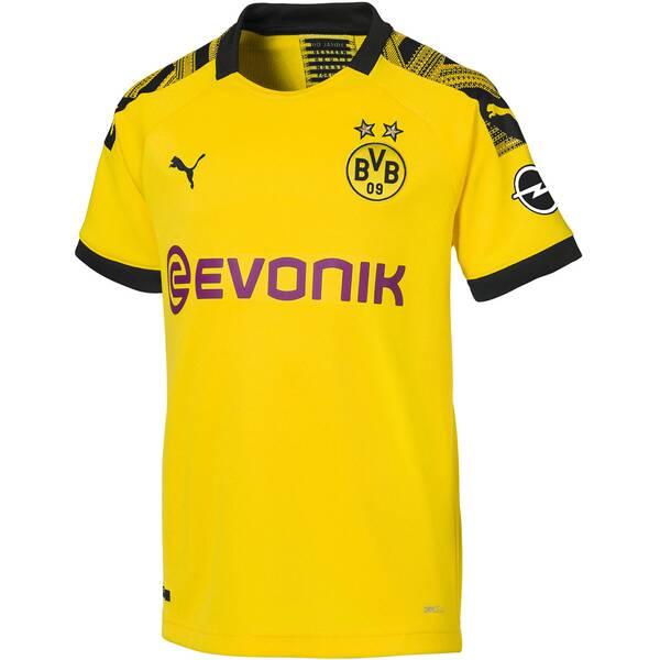 """PUMA Jungen Fußballtrikot """"BVB Home Shirt"""" Kurzarm - Replica"""