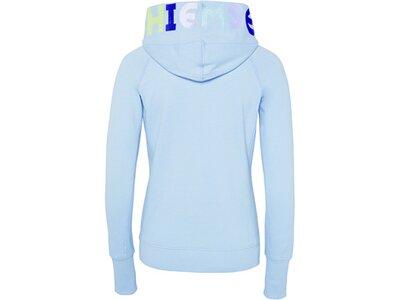 CHIEMSEE Sweatjacke mit CHIEMSEE Logo-Stickerei an der Kapuze - GOTS zertifiziert Blau
