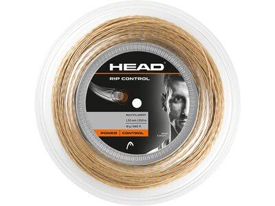 "HEAD Tennissaite ""Rip Control Rolle 200m"" Braun"