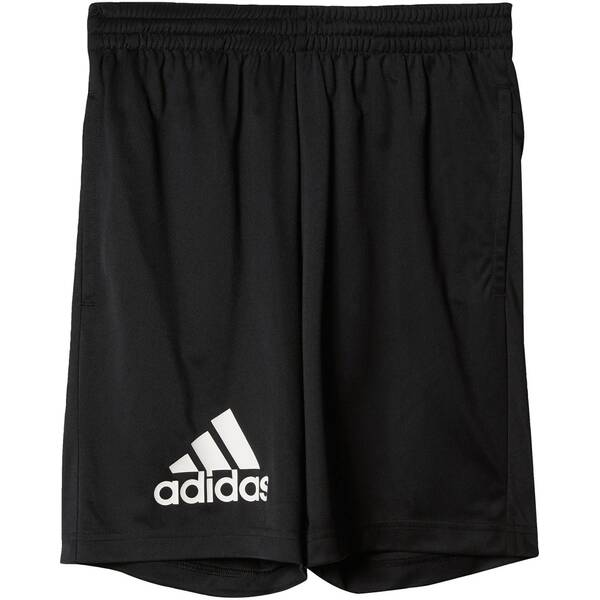 ADIDAS Boys Trainingsshorts Gear Up Shorts Schwarz