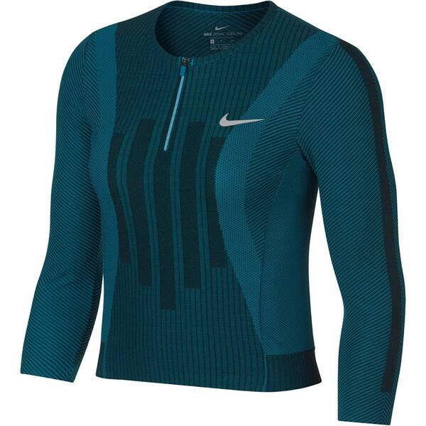 NIKE Damen Tennis-Shirt Court Zonal Cooling Slam | Sportbekleidung > Sportshirts > Tennisshirts | Black | NIKE