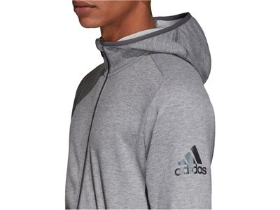"""ADIDAS Herren Sweatshirt """"Freelift Hoodie Entry"""" Grau"""