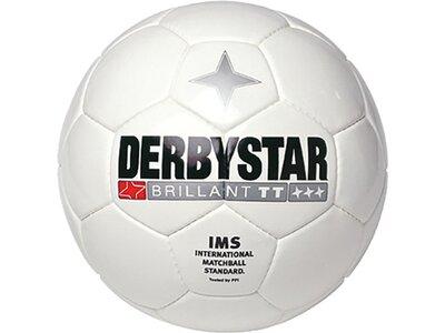 DERBYSTAR Equipment - Fußbälle Brillant TT Trainingsball Weiß