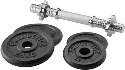 ENERGETICS Kurzhantel-Set Guss - 10 kg