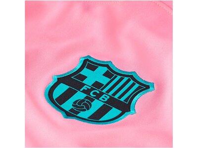 "NIKE FC Barcelona Fußballtrikot ""2020/21 Stadium Third"" Silber"
