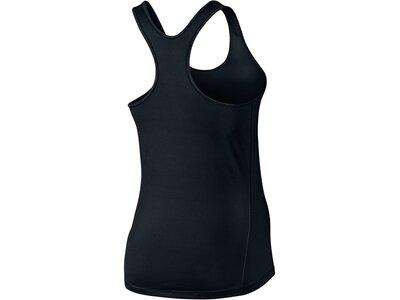NIKE Damen Trainingsshirt / Tank Top Schwarz
