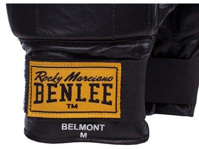 BENLEE Sandsackhandschuhe aus Leder BELMONT Schwarz