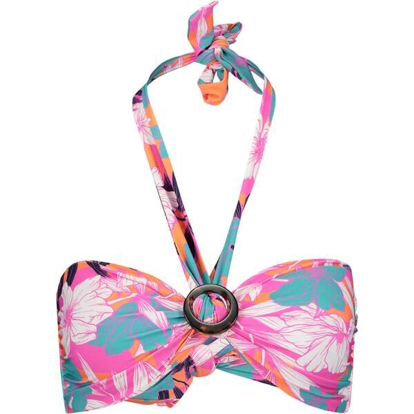 Bademode - SEAFOLLY Damen Bikinioberteil Ring Front Bandeau › Pink  - Onlineshop Intersport