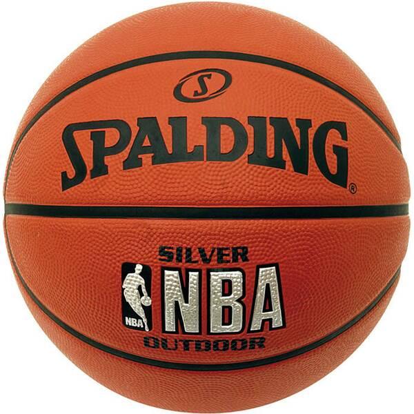 SPALDING Basketball - NBA Silver Outdoor Junior