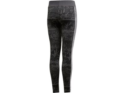 ADIDAS Damen Training Equipment 3-Streifen Tight Grau
