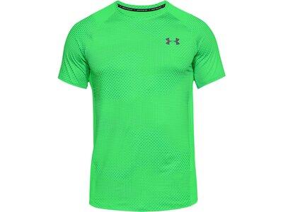 UNDERARMOUR Herren Fitness-Shirt Kurzarm Grün