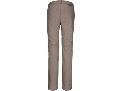 SCHÖFFEL Damen Zip-Off-Hose / Wanderhose Pants Santa Fe Braun