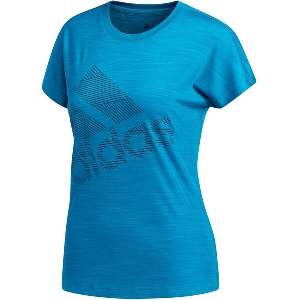 "ADIDAS Damen Shirt ""Short Sleeve BOS Logo TEE"""