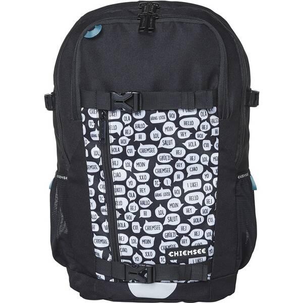 CHIEMSEE Rucksack mit gepolsterten Schultergurten und zusätzlichem Brustgurt