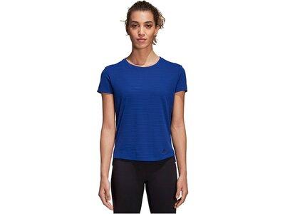 ADIDAS Damen Trainingsshirt Freelift Chill Blau