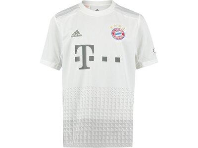 """ADIDAS Kinder Fußballtrikot """"FC Bayern Away 19/20"""" Weiß"""