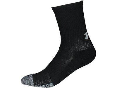 UNDER ARMOUR HeatGear® Crew Socken–3er-Pack Schwarz