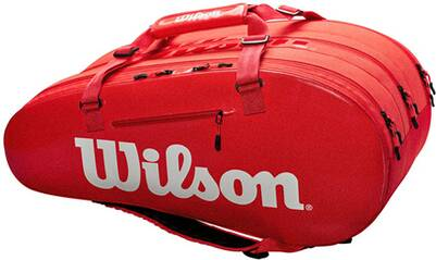 WILSON Tasche SUPER TOUR 3 COMP RED