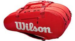 Vorschau: WILSON Tasche SUPER TOUR 3 COMP RED