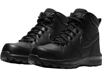 "NIKE Jungen Boots ""Manoa Leather Big Kids Boot"" Schwarz"
