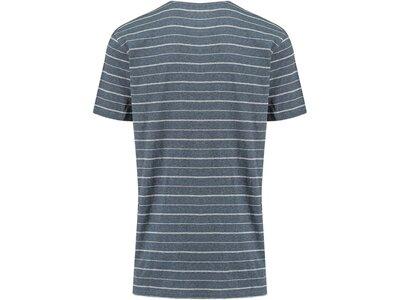 QUIKSILVER Herren T-Shirt Zermet Blau