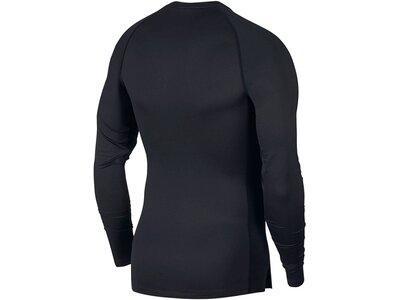 NIKE Herren Shirt Langarm Schwarz