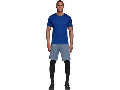 ADIDAS Herren Trainingsshirt Blau