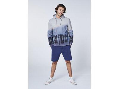 CHIEMSEE Sweatshirt mit Allover Fotoprint - GOTS zertifiziert Grau